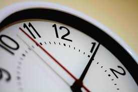 clock depicting overtime